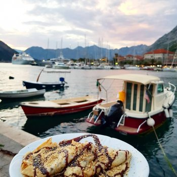 What heaven looks like dessert crepes kotor   hellip