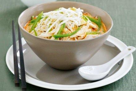 Kombava Cafe Chicken laksa soup