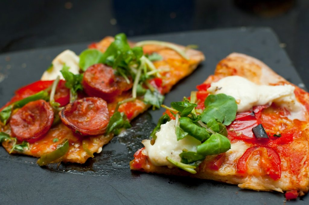 Pizza Express: Calabrese pizza