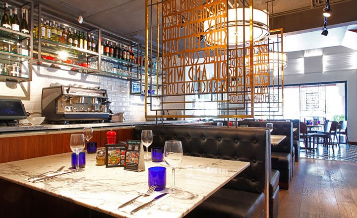 Pizza Express: Inside