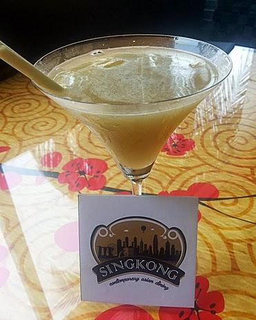 Sing Kong: Cocktail - martini