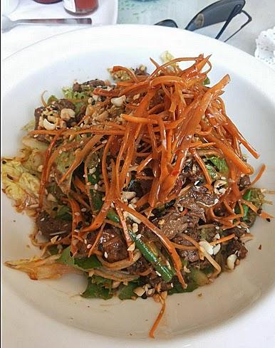 Smokehouse Deli: Beef salad