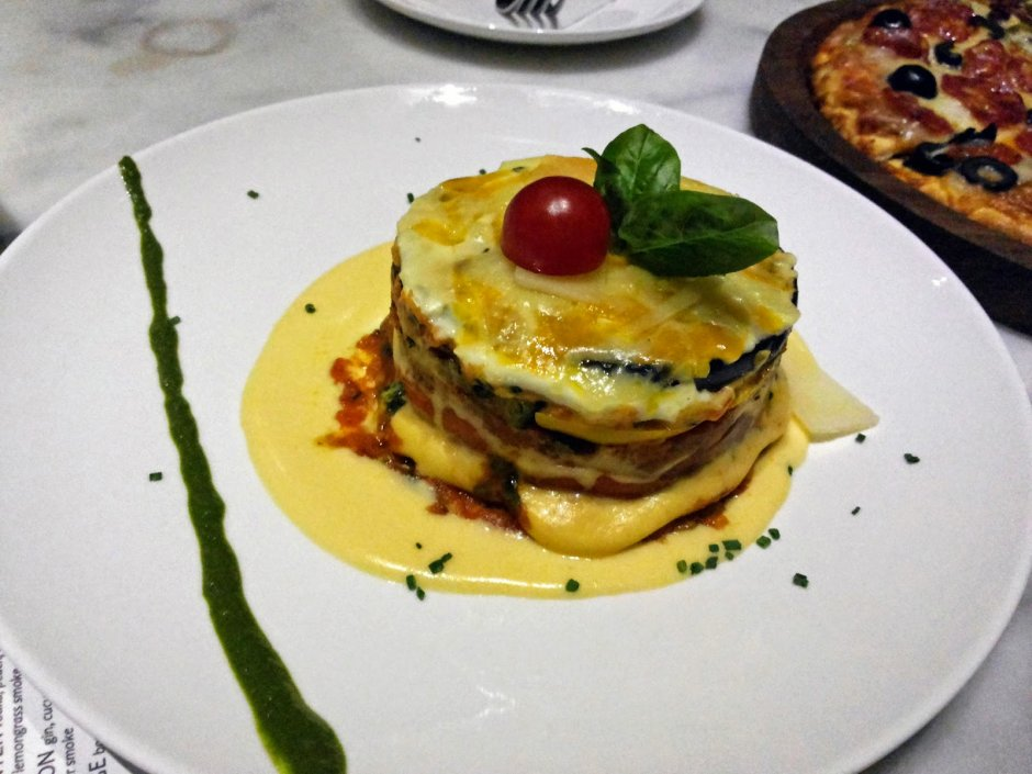 The Daily Vegetarian moussaka