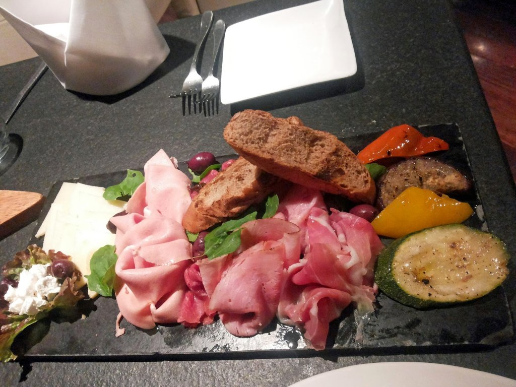 Two One Two: Antipasti platter