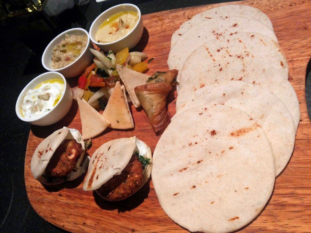 Two One Two: Mezze platter
