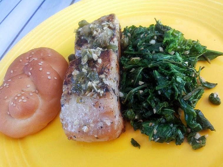 Barrio: Fish - baked rawas