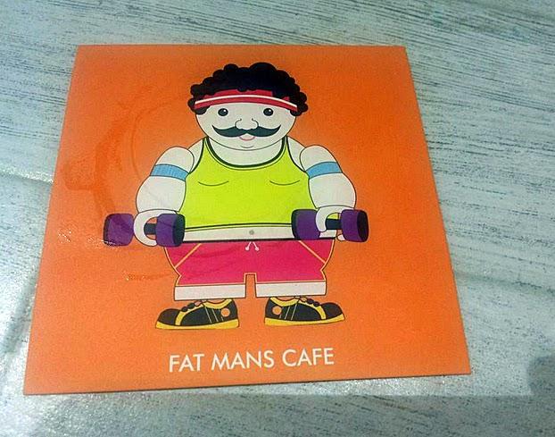 Fat Man's Cafe: Logo