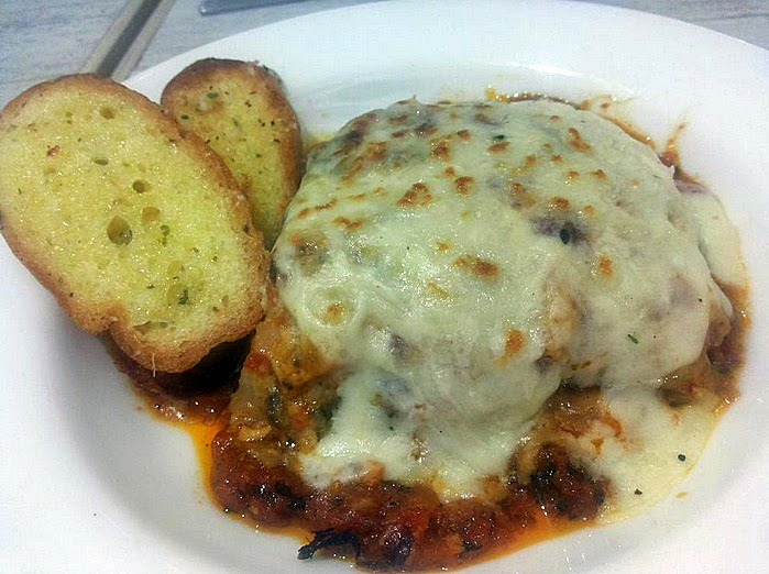 Fat Man's Cafe: Vegetarian lasagne
