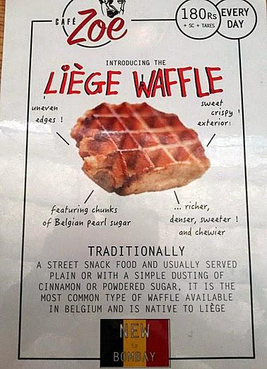 Cafe Zoe: Waffles