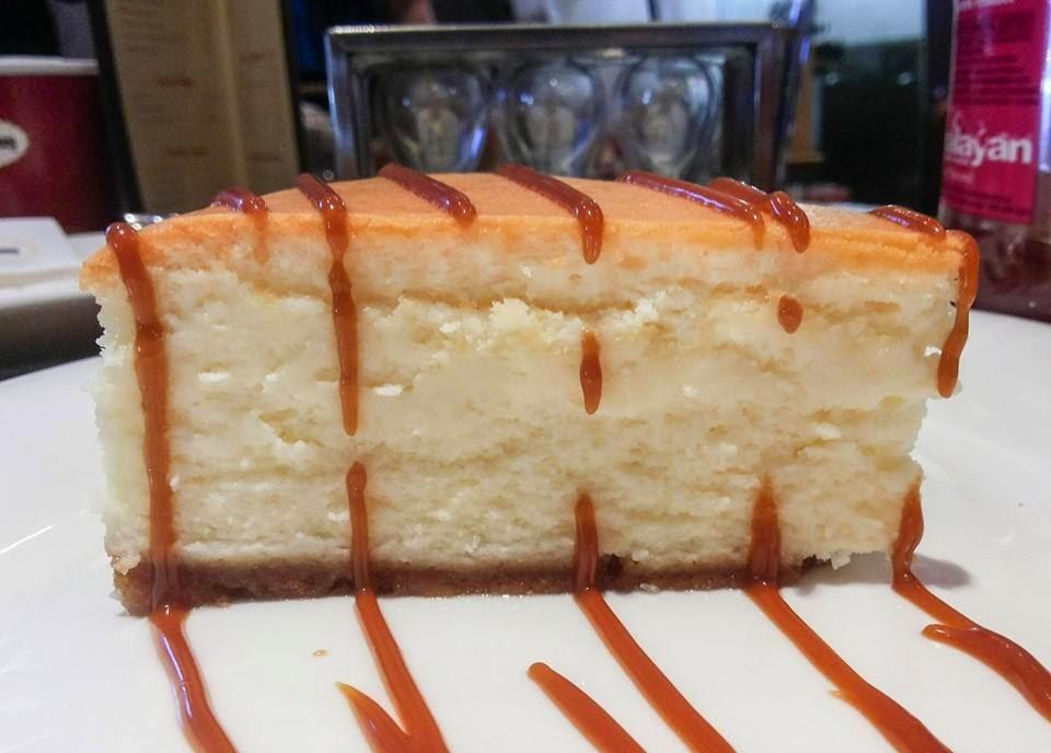 Haagen–Dazs Cafe: New York baked cheesecake