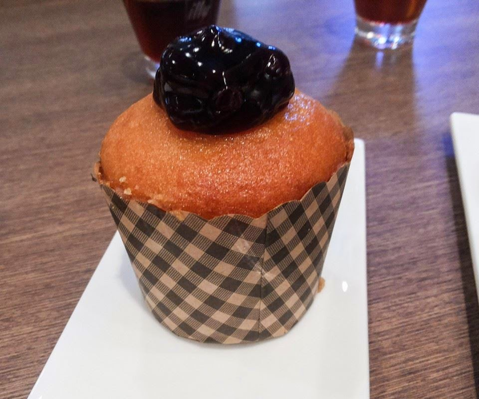 Haagen–Dazs Cafe: Blueberry muffin