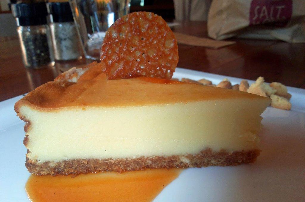 Salt Water Cafe: Dessert cheesecake