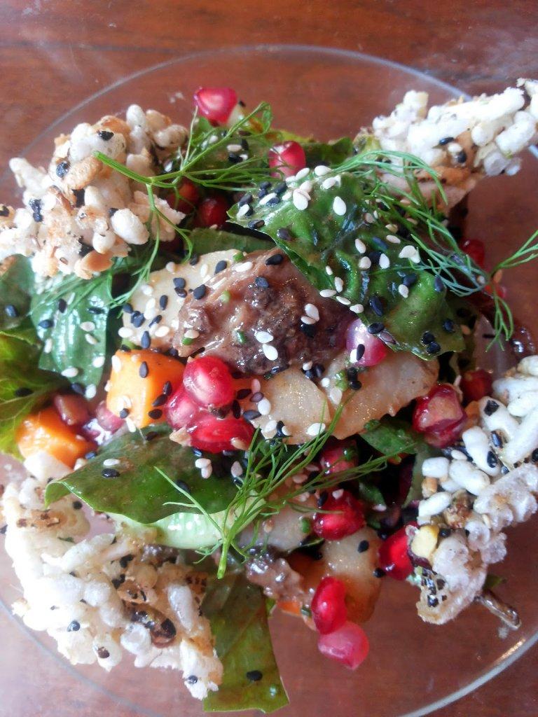 Salt Water Cafe: Duck salad