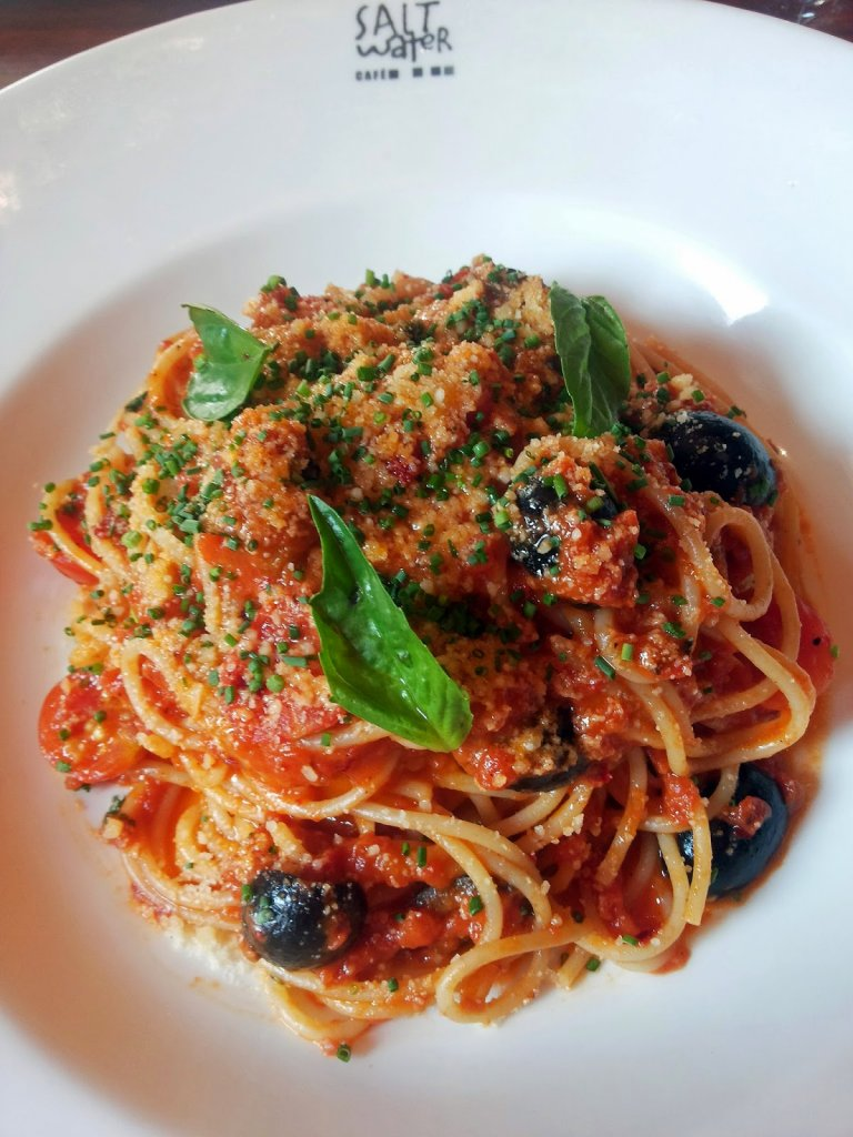 Salt Water Cafe: Spaghetti