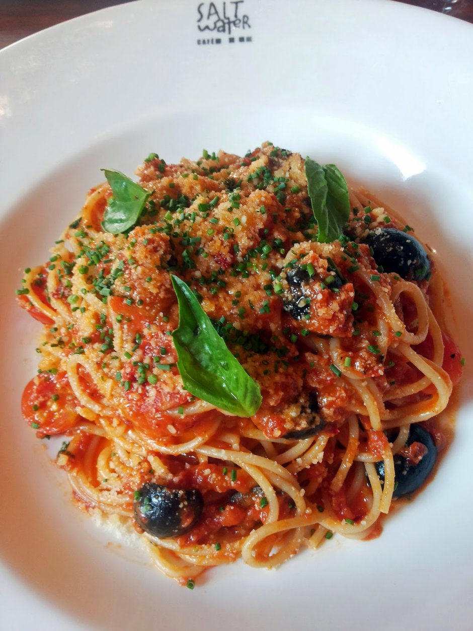 Salt Water Cafe Spaghetti