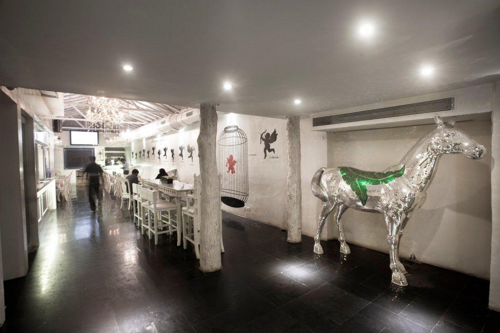 Villa 69: Inside