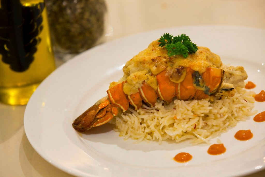 Villa 69: Lobster thermidor