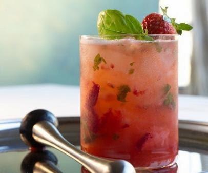 Villa 69: Strawberry martini