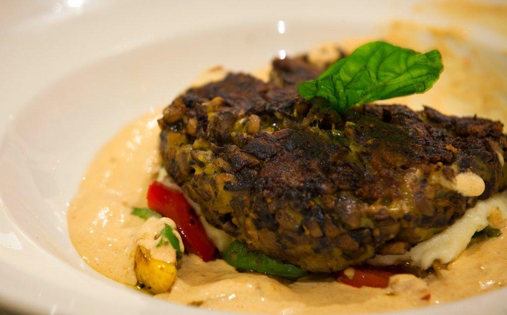 Villa 69: Mushroom steak