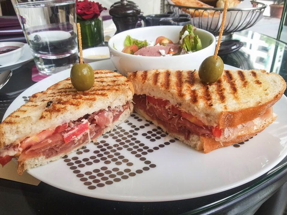 The Artisan: Jamon sandwich