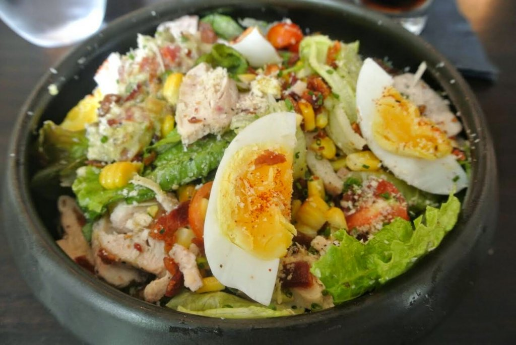 Ellipsis: Cobb Caesar salad