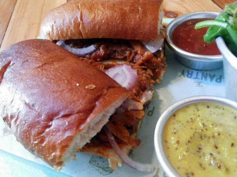 The Pantry: Pulled pork sandwich