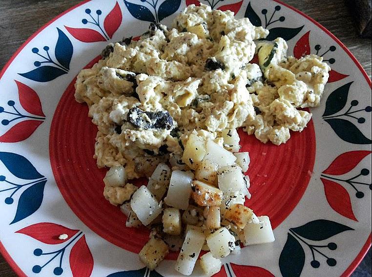 Jam Jar Diner: Scrambled eggs