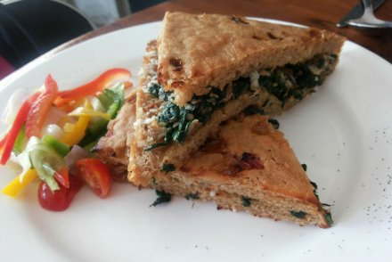 Birdsong Cafe sandwich