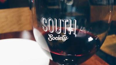 South Society: Wine glass