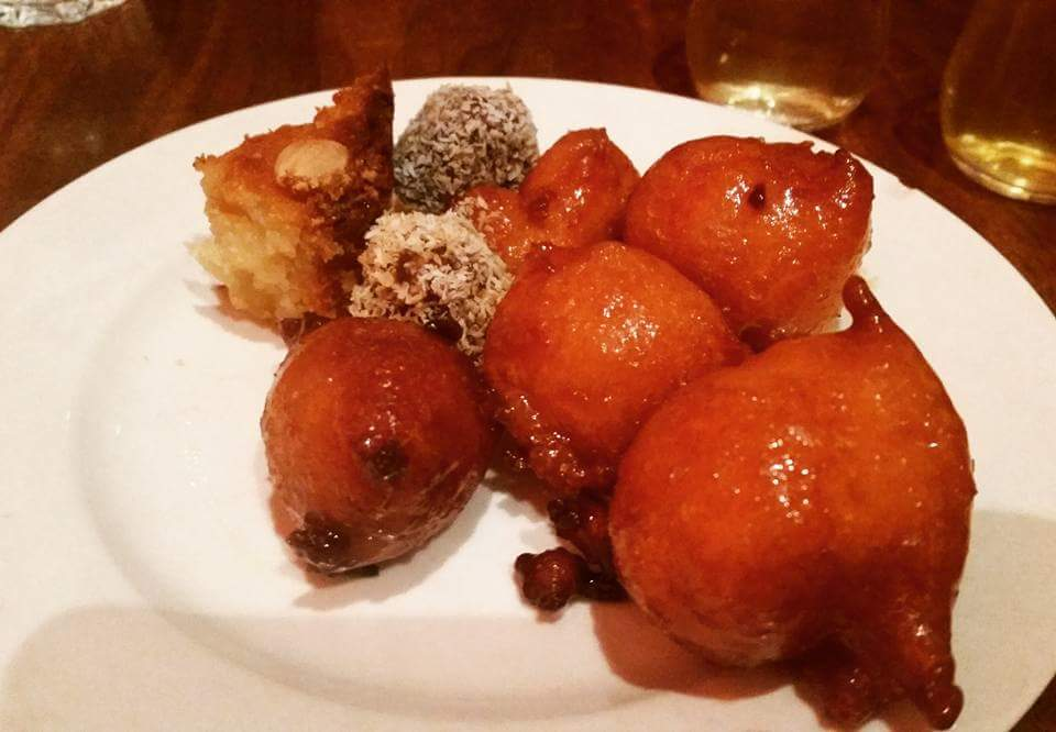 Moroccan Soup Bar: Fried donuts