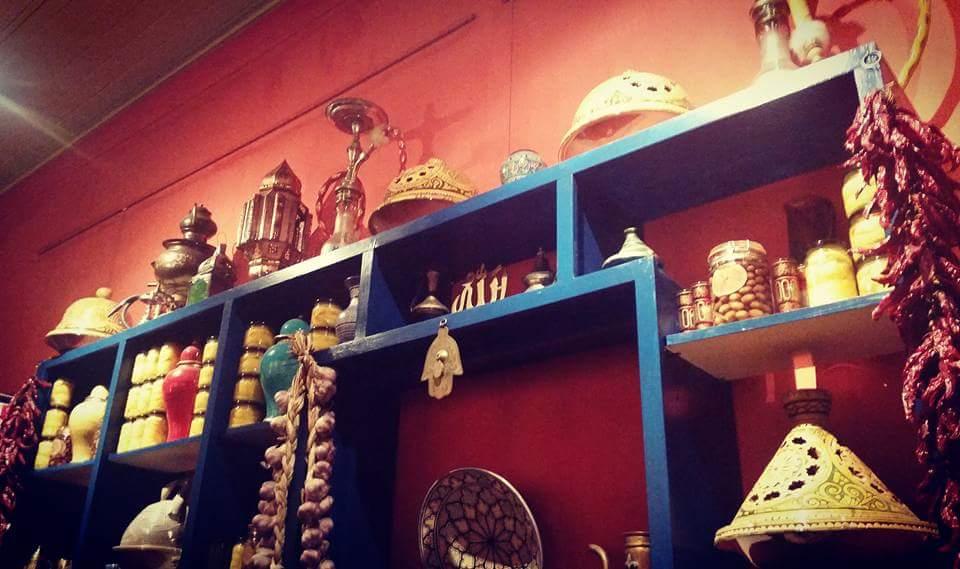 Moroccan Soup Bar: Inside decor