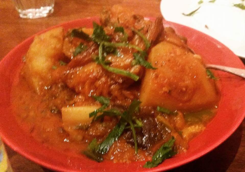 Moroccan Soup Bar: Veggie Couscous