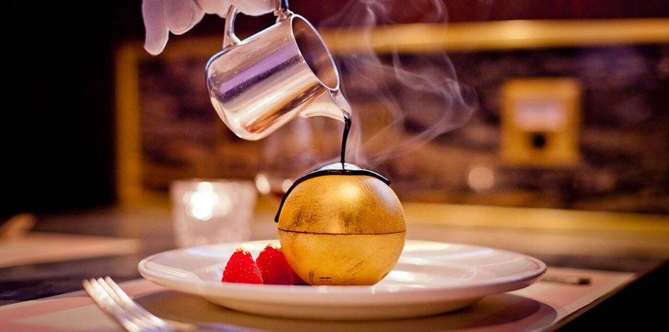 luxury dining london